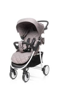 4 BABY Wózek spacerowy RAPID XIX BROWN