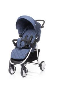4 BABY Wózek spacerowy RAPID XIX NAVY BLUE