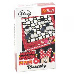 gra warcaby minnie mouse TREFL